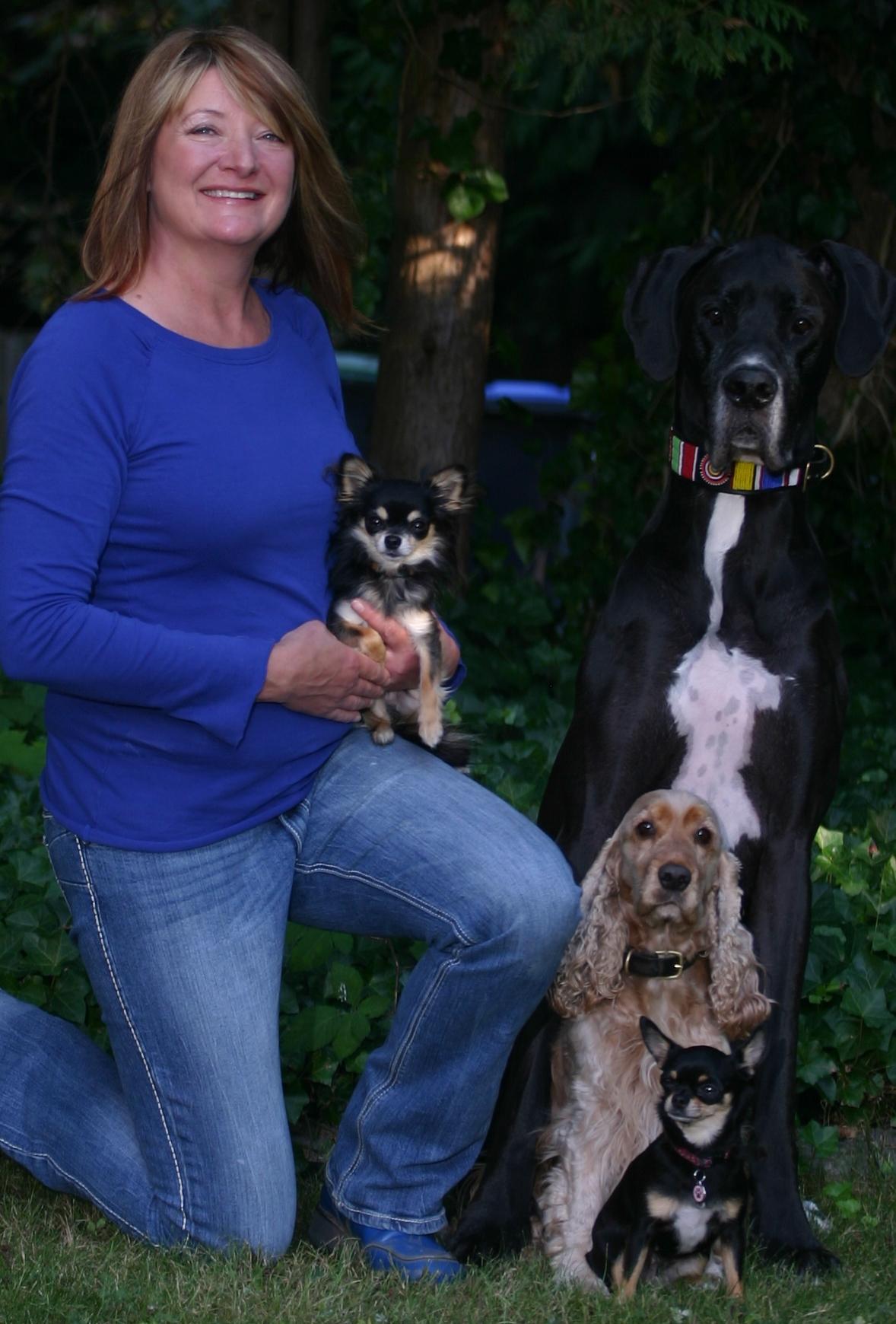 Jane Eskuri & her Canine Crew