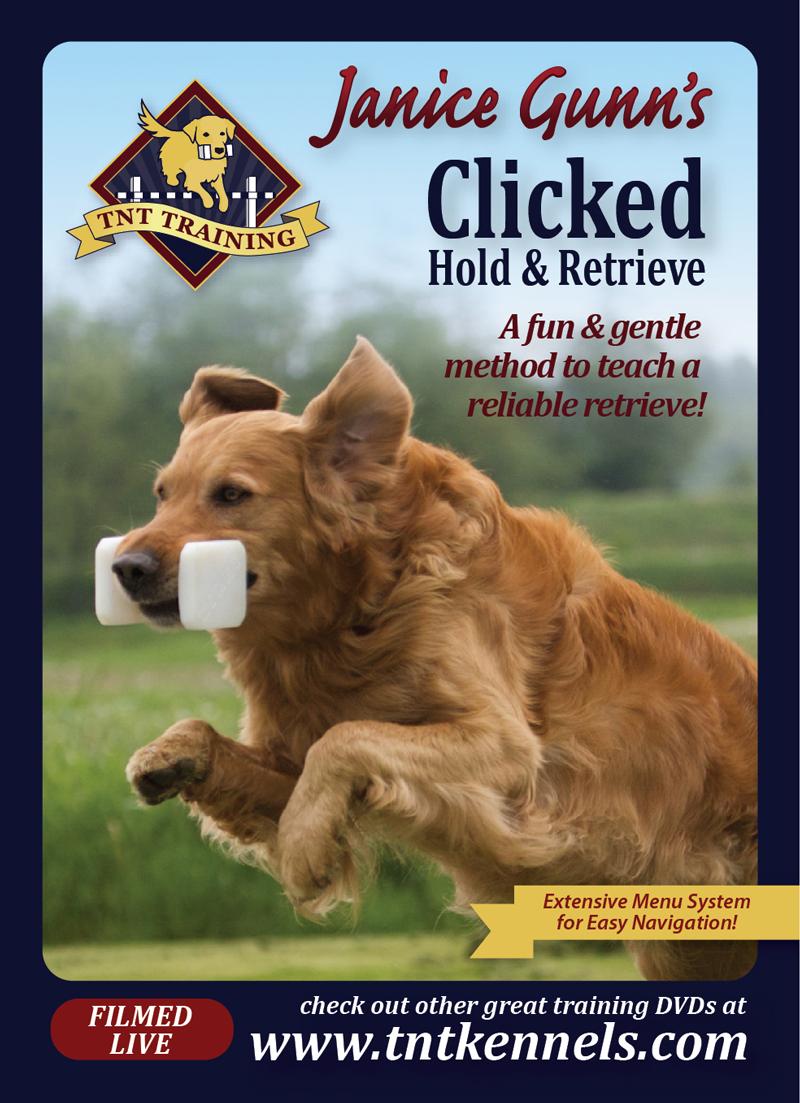 Janice Gunn's Clicked Hold & Retrieve Training DVD