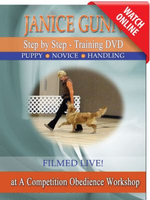 Step by Step: Puppy / Novice Online Video