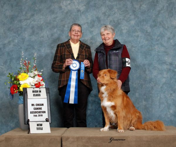 Mary Philpot with Murphy (Toller)