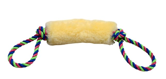 Sheepskin Tug Toy