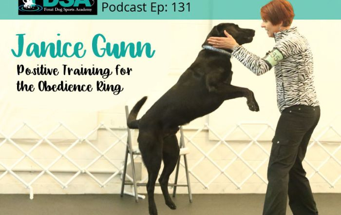 Obedience Trainer, Janice Gunn with Dog Remi