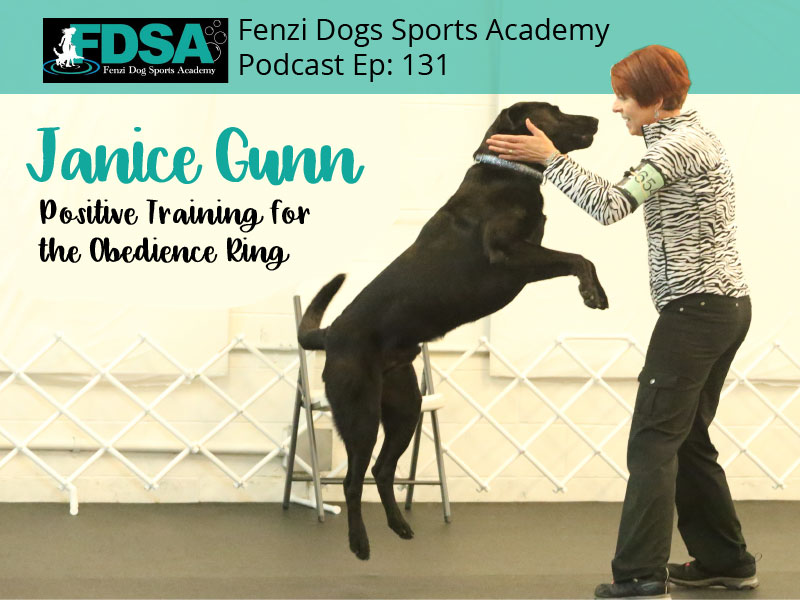 Fenzi Dog Sports Podcast – Positive Training for the Obedience Ring